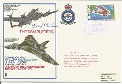 Leonard Cheshire VC signed Dambuster Lancaster and