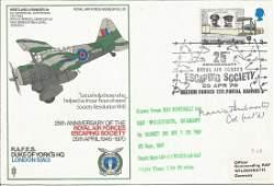 WW2 SOE Maurice Buckmaster signed RAF Duke of Yorks