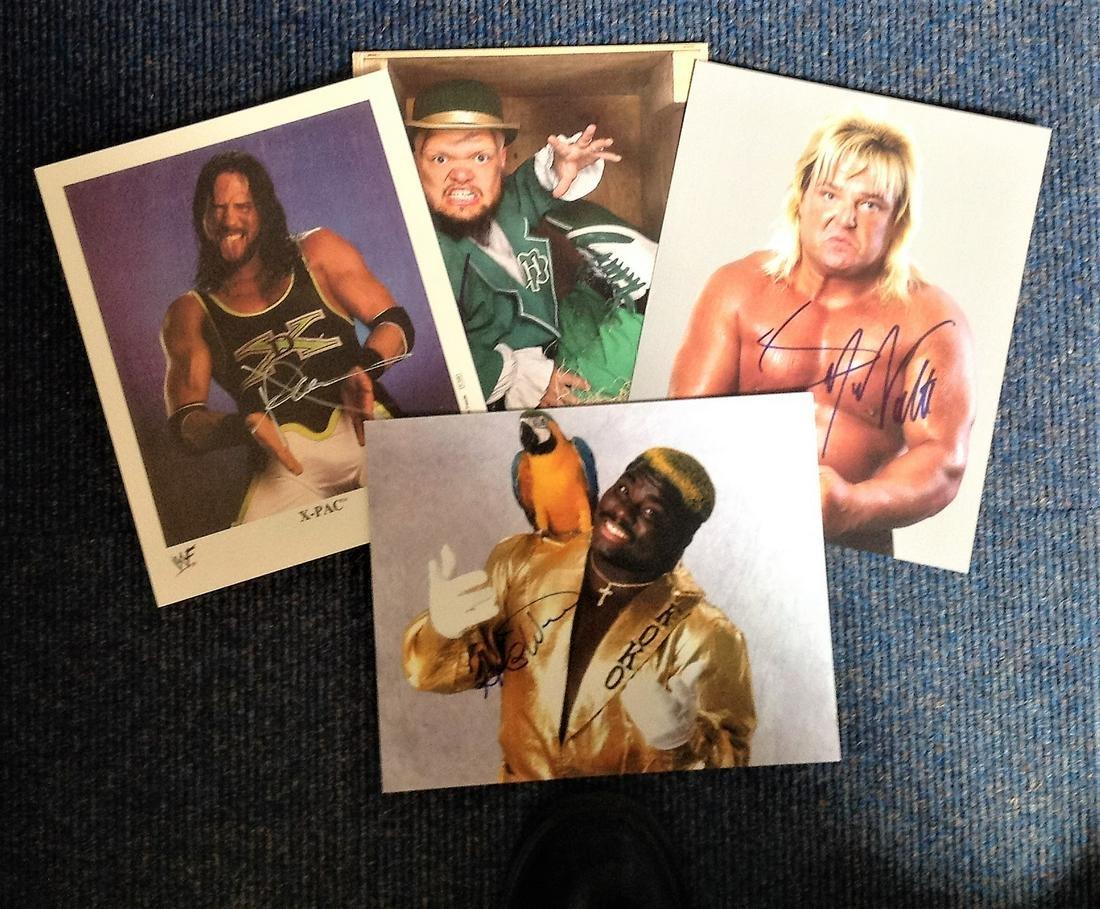 Low Price Sale! Lot of 4 WWF / WWE Wrestling hand