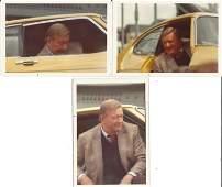 John Wayne signed photo, replica 45 gun and unpublished