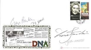 TV actors multiple signed Internetstamps Agatha