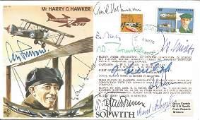 Ten top Luftwaffe aces ins Hartmann signed Mr. Harry G.