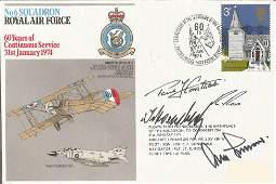 Gen Adolf Galland KC Luftwaffe ace signed No6 Squadron