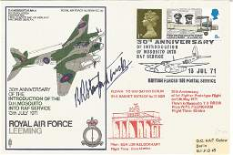 WW2 ace Robert Stanford-Tuck signed Royal Air Force