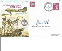 Brigadier Stanley James Ledger Hill DSO MC signed