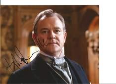 Hugh Bonneville Actor Signed Downton Abbey 8x10 Photo