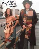 Doctor Who cast signed 8x10 photo signed by Tom Baker