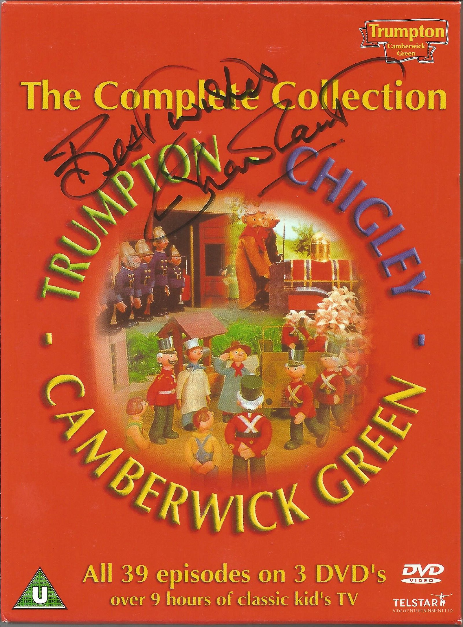 Trumpton, Chigley and Camberwick Green DVD collection
