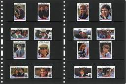 Commonwealth stamp collection 1986 Royal Wedding