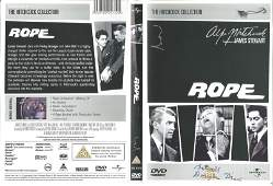 Douglas Dick signed Rope DVD insert. DVD included. Good