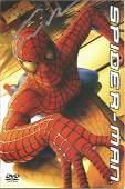Sam Raimi signed Spiderman DVD insert. American
