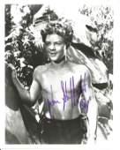 Johnny Sheffield signed 10x8 black and white photo.