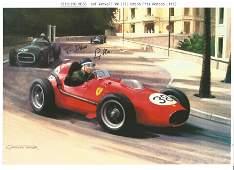 Formula 1 Motor Racing Stirling Moss signed 12 x 8