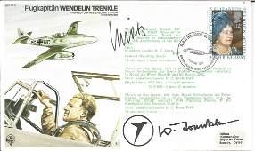 Luftwaffe WW2 aces Helmut Wick and Wendelin Trenkle