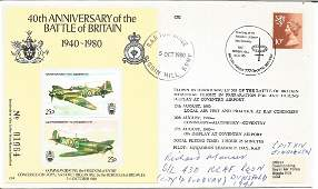 WW2 Spitfire pilot Sqn Ldr Richard Manser 430 sqn