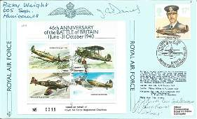 WW2 Battle of Britain fighter aces J J Booth 600 sqn
