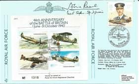 WW2 Battle of Britain fighter ace John Peel 45 Sqn