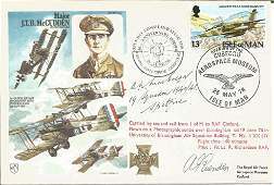 WW2 Battle of Britain fighter ace A W Macgregor 19 sqn