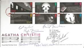 Hugh Fraser, Philip Jackson, Pauline Moran and David