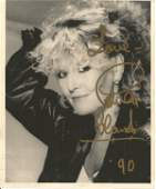 Petula Clark Singer Signed 8x10 Photo Good Condition
