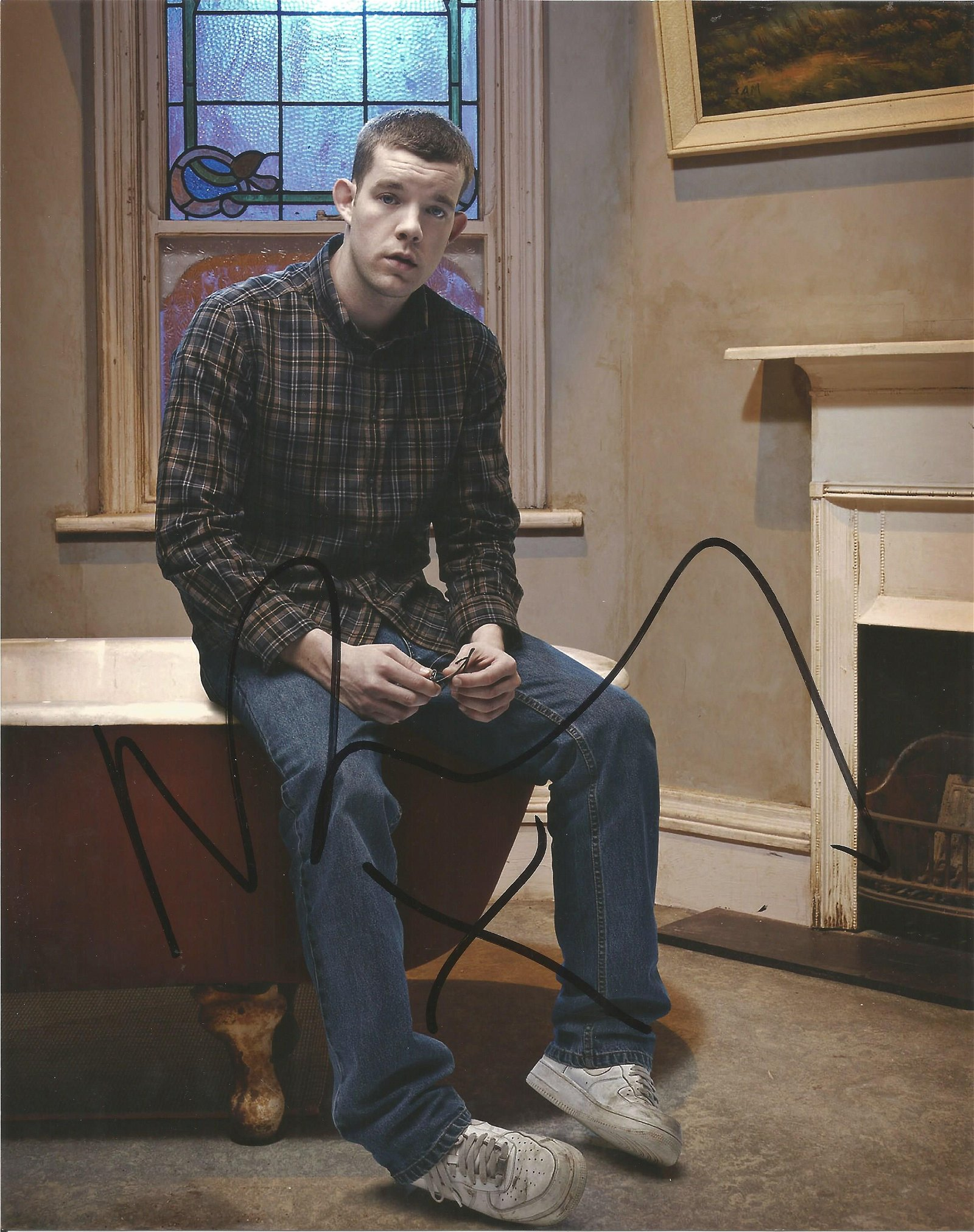 Russell Tovey signed 10x8 colour photo. Good Condition.