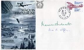 WW2 SOE. RAF Escaping Society 'Maquis D'Auvergne'
