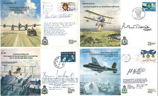 Bomber Command WW2 special Signed cover collection A