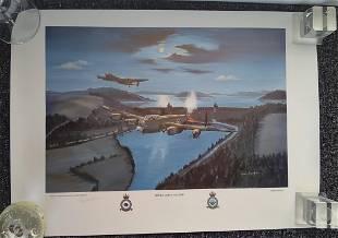 Dambusters Operation Chastise signed WW2 John Larder