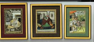 Unique and rare Indian paintings framed collection of