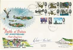 Douglas Bader DSO DFC WW2 famous fighter ace signed