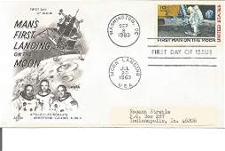 Space FDC Mans First Landing on the Moon Apollo 11