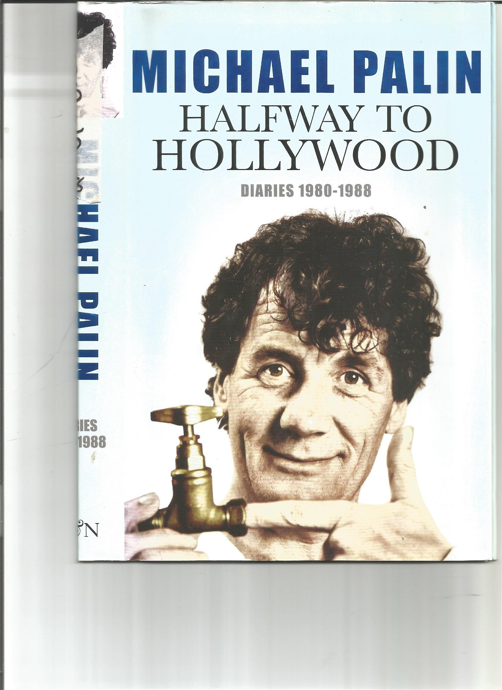 Michael Palin book Signed Book Halfway to Hollywood.