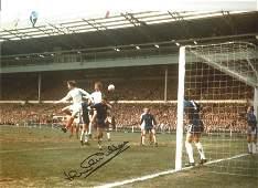 Jack Charlton Football Autographed 12 x 8 photo, a
