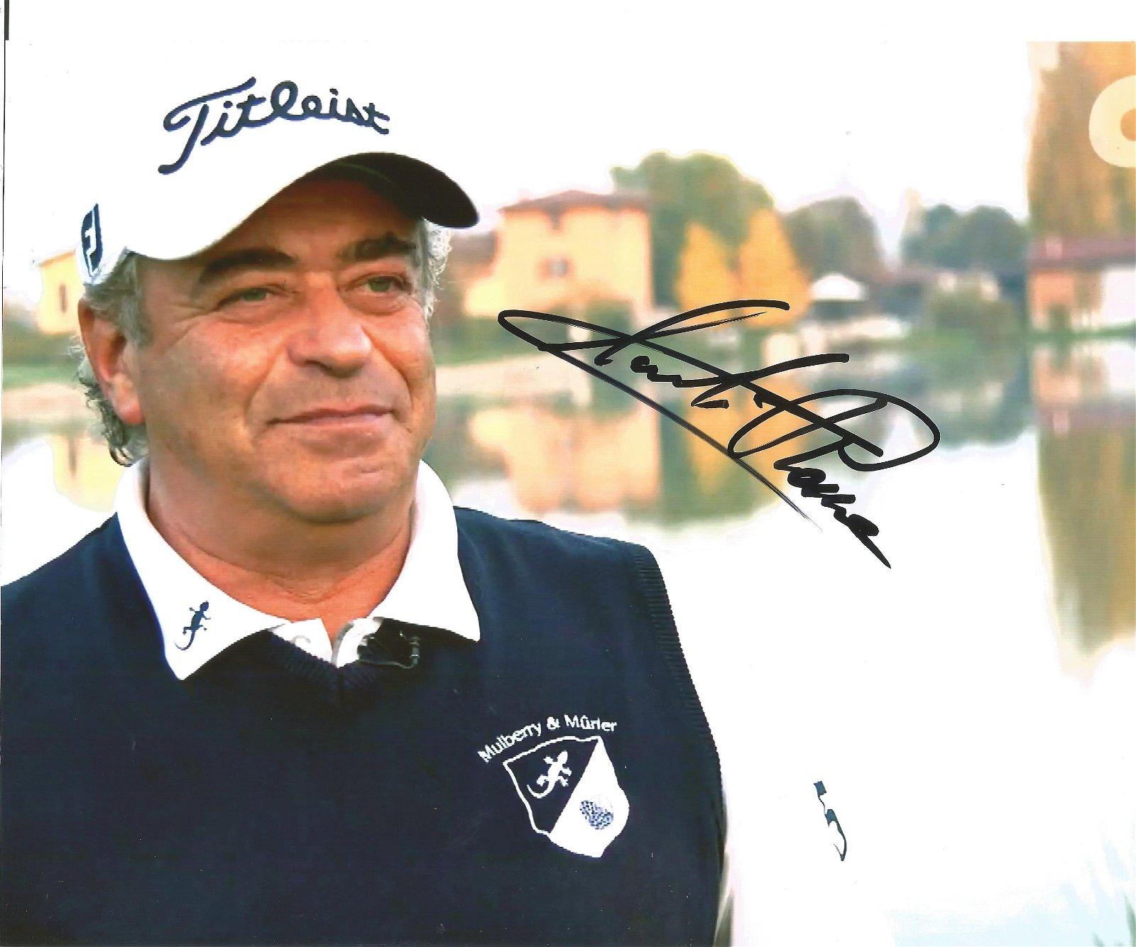 Constantino Rocca Signed Golf 8x10 Photo. Good
