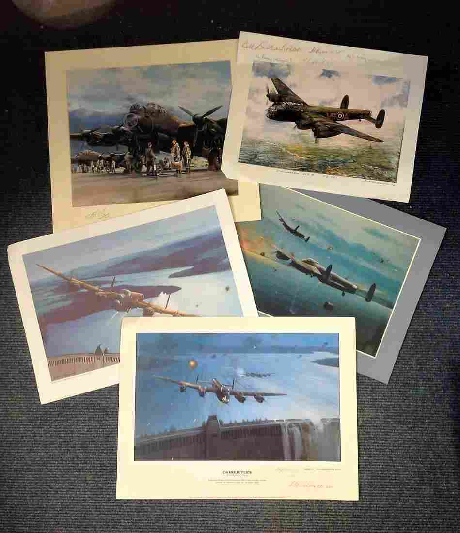 World War Two print collection includes 6 prints four