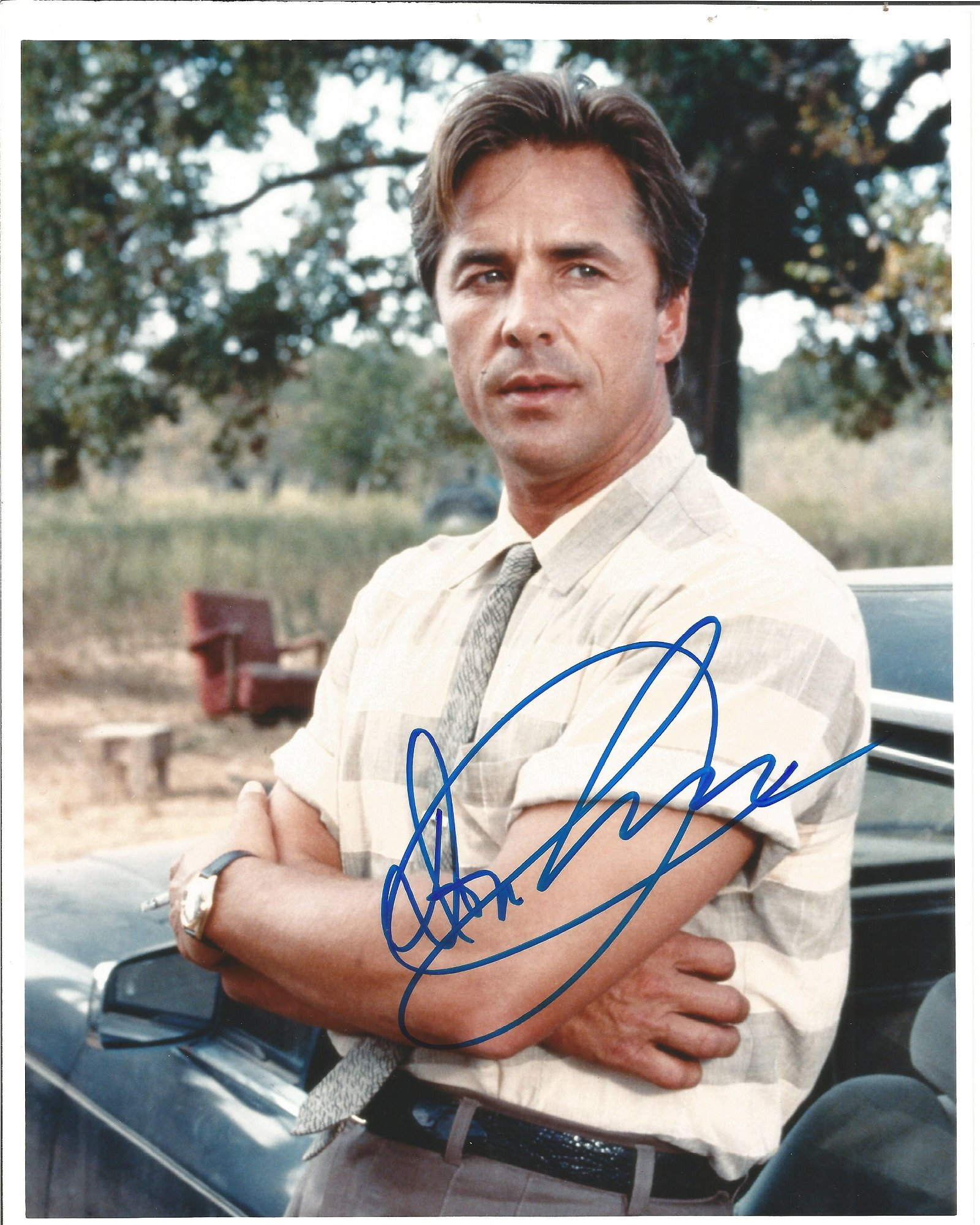 Don Johnson signed 10x8 colour photo. Good Condition.