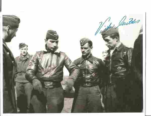 WW2 Luftwaffe fighter ace Viktor Molders KC 80 missions
