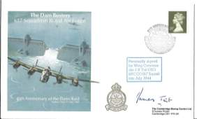 WW2 Wg Cdr James Tait DSO DFC signed 45th ann Dambuster