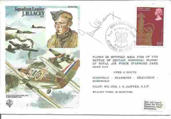 Top WW2 Battle of Britain fighter ace Sqn Ldr James