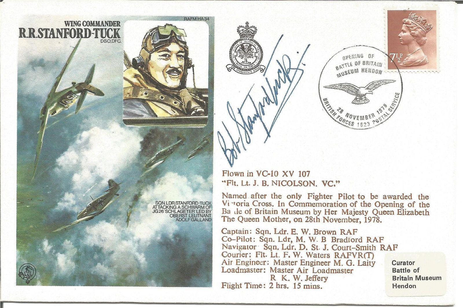 WW2 Battle of Britain fighter ace Wg Cdr Robert
