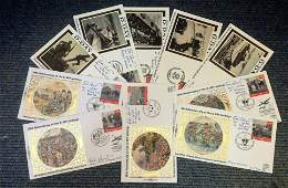 World War Two FDC collection 10 fantastic Benham small
