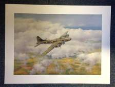 World War Two print 18x24 titled Memphis Belle by the