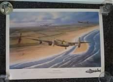 Enemy Coast Ahead WW2 27 x 20 inch print by Paul