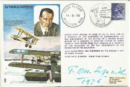 Tom Sopwith Aircraft designers signed on his own