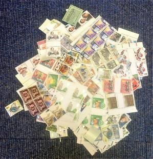 Assorted GB mint stamp collection Face value over