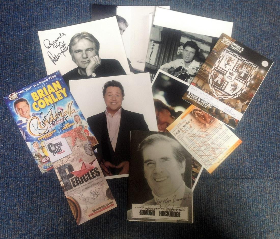 Assorted TV signed collection. Includes Frank Skinner