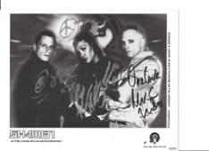 Shamen signed 10x8 black and white photo. Scottish