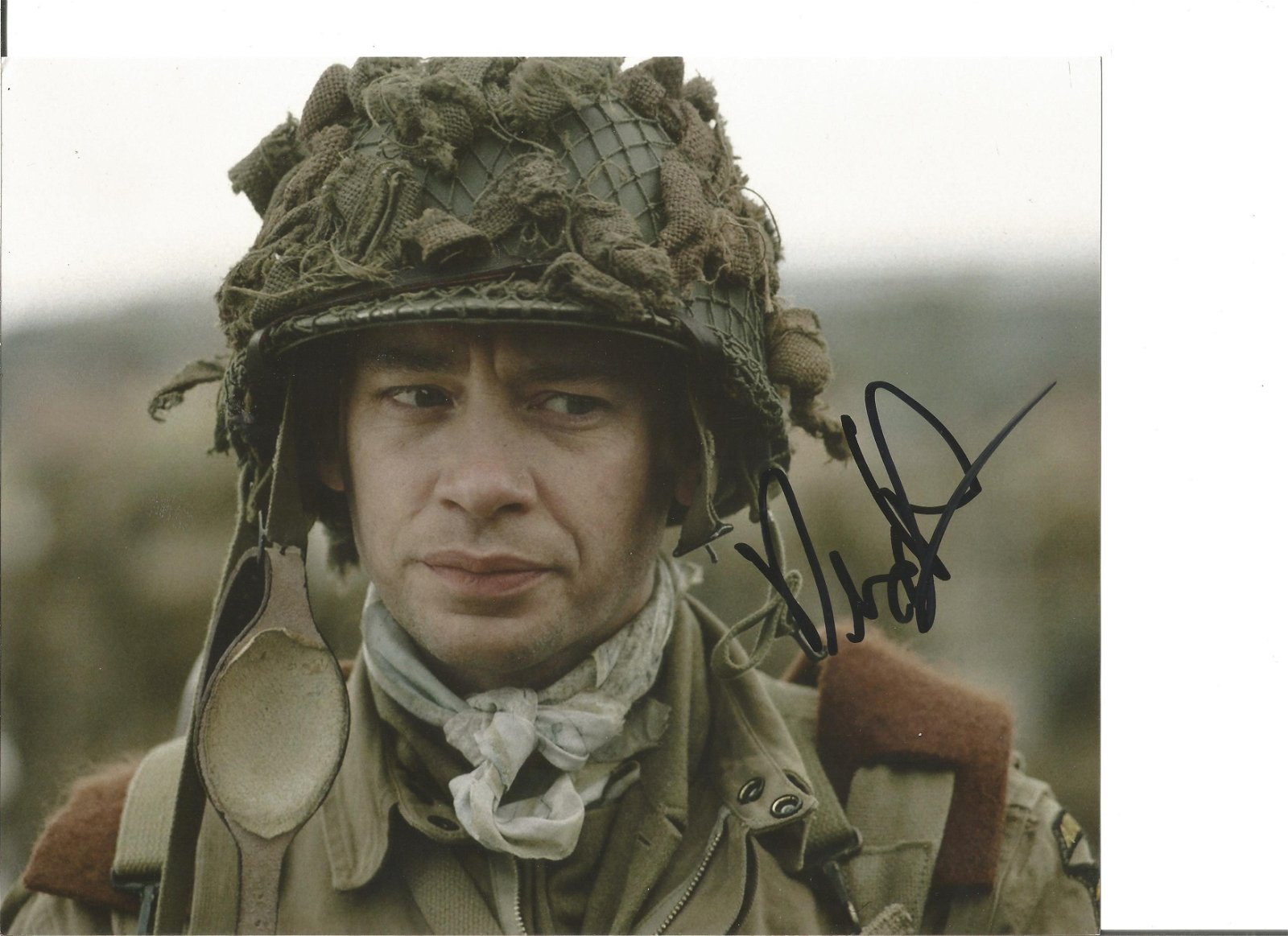 Dexter Fletcher Actor Director Signed 8x10 Photo. Good