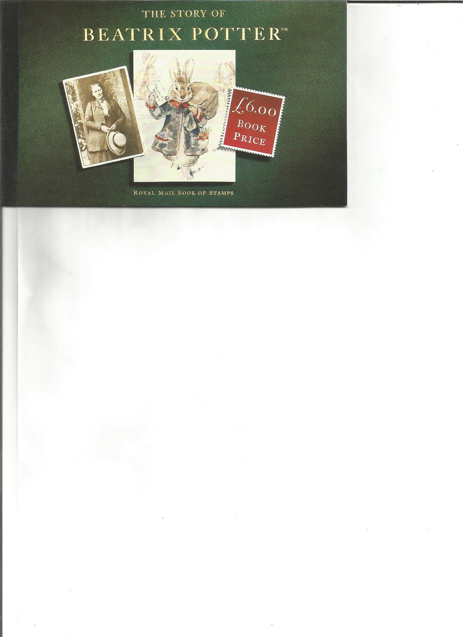 Royal mail complete prestige stamp booklet The Story of