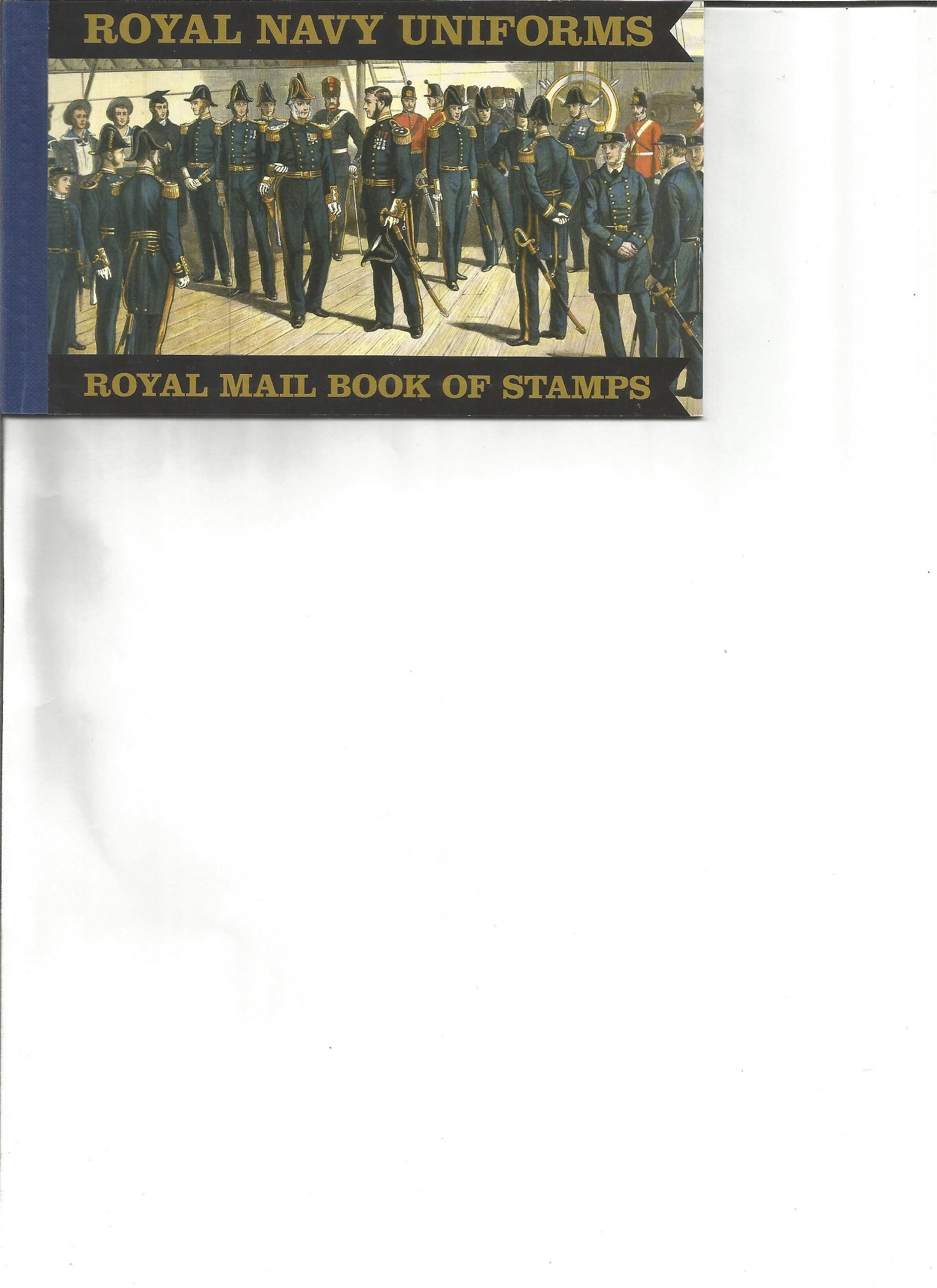 Royal mail complete prestige stamp booklet Royal navy